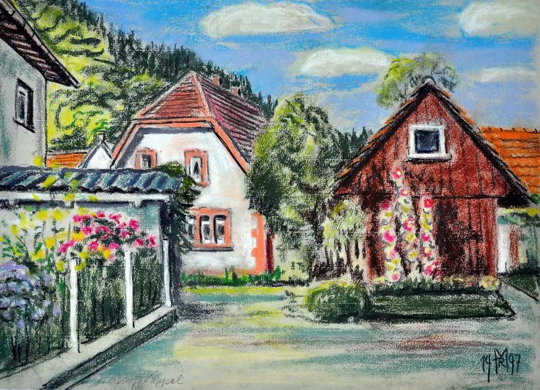 Dr. Rolf Miedtke - Gemälde aus Kappel 00