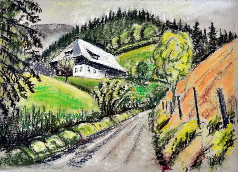 Dr. Rolf Miedtke - Gemälde aus Kappel 01