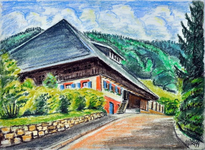 Dr. Rolf Miedtke - Gemälde aus Kappel 02