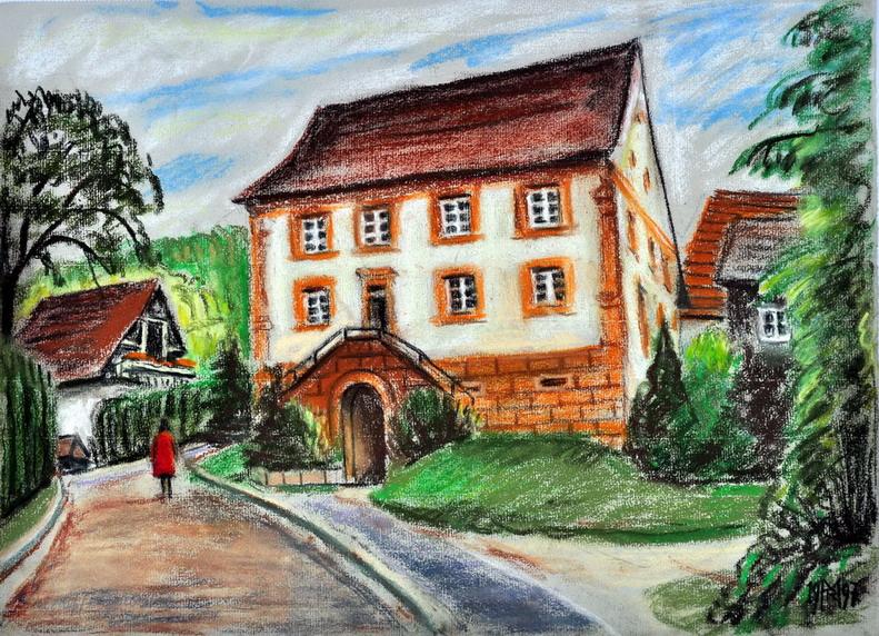 Dr. Rolf Miedtke - Gemälde aus Kappel 03