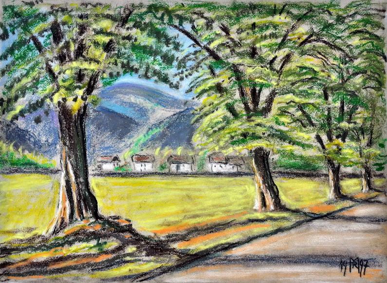 Dr. Rolf Miedtke - Gemälde aus Kappel 04