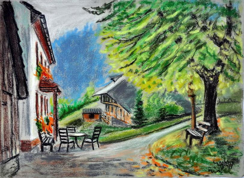 Dr. Rolf Miedtke - Gemälde aus Kappel 05