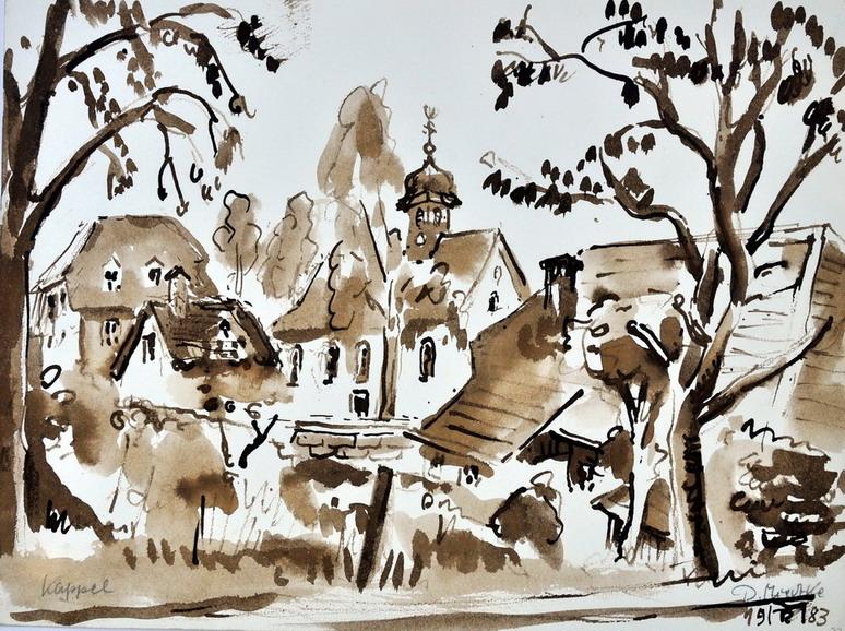 Dr. Rolf Miedtke - Gemälde aus Kappel 06
