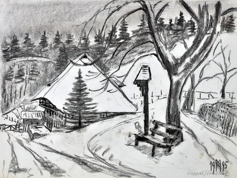 Dr. Rolf Miedtke - Gemälde aus Kappel 07