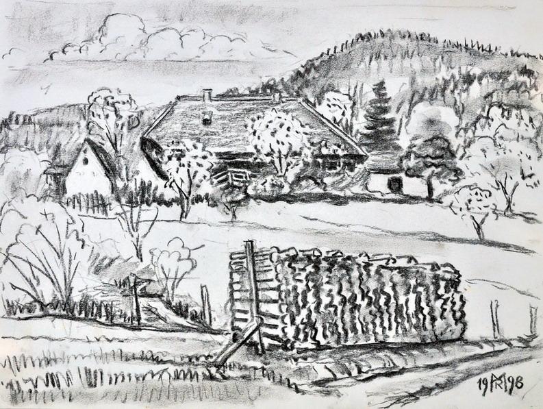 Dr. Rolf Miedtke - Gemälde aus Kappel 08