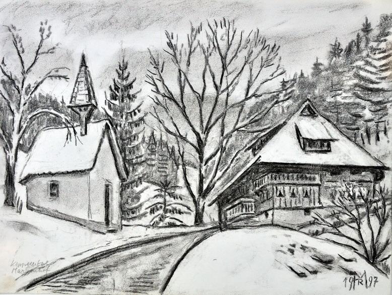 Dr. Rolf Miedtke - Gemälde aus Kappel 09