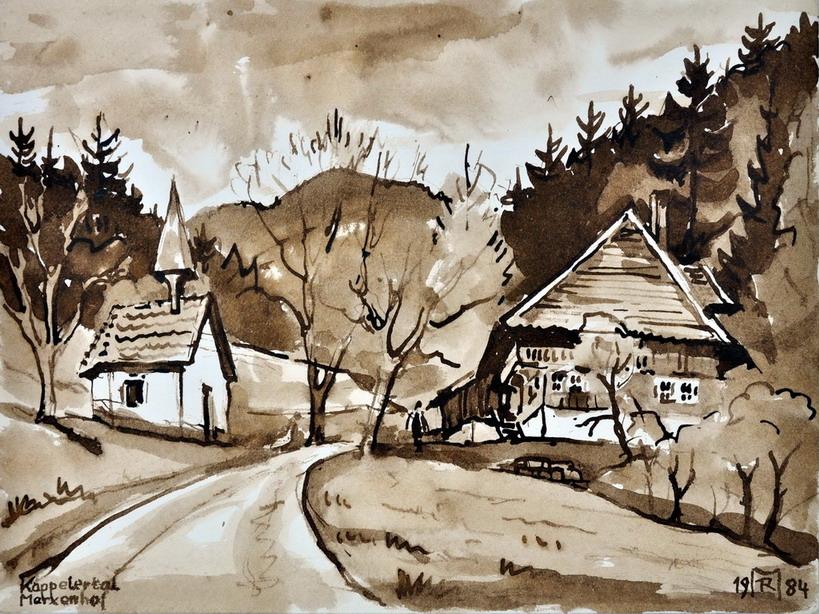 Dr. Rolf Miedtke - Gemälde aus Kappel 11