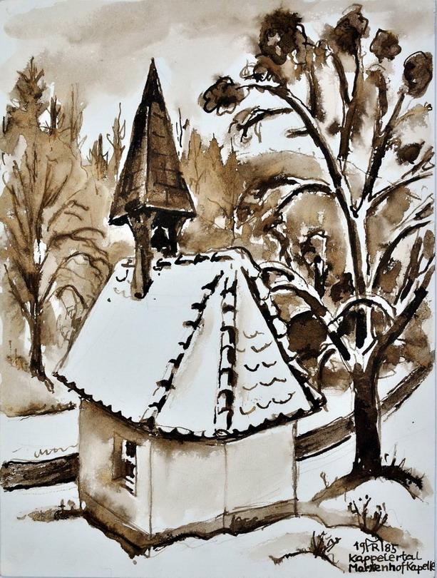 Dr. Rolf Miedtke - Gemälde aus Kappel 12