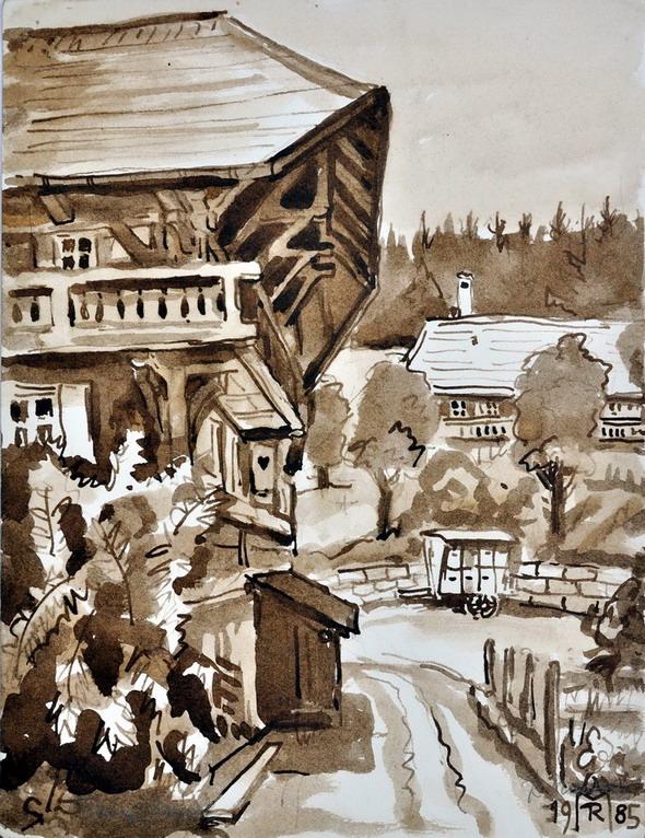 Dr. Rolf Miedtke - Gemälde aus Kappel 13