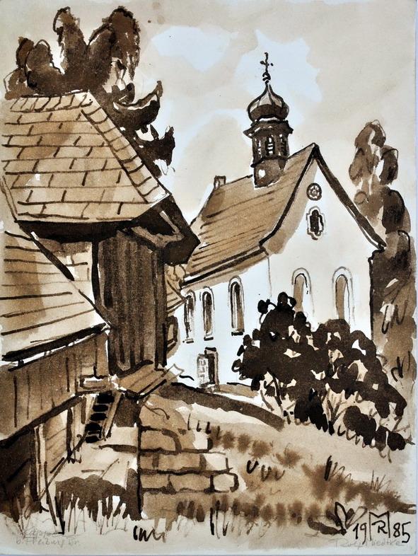 Dr. Rolf Miedtke - Gemälde aus Kappel 14