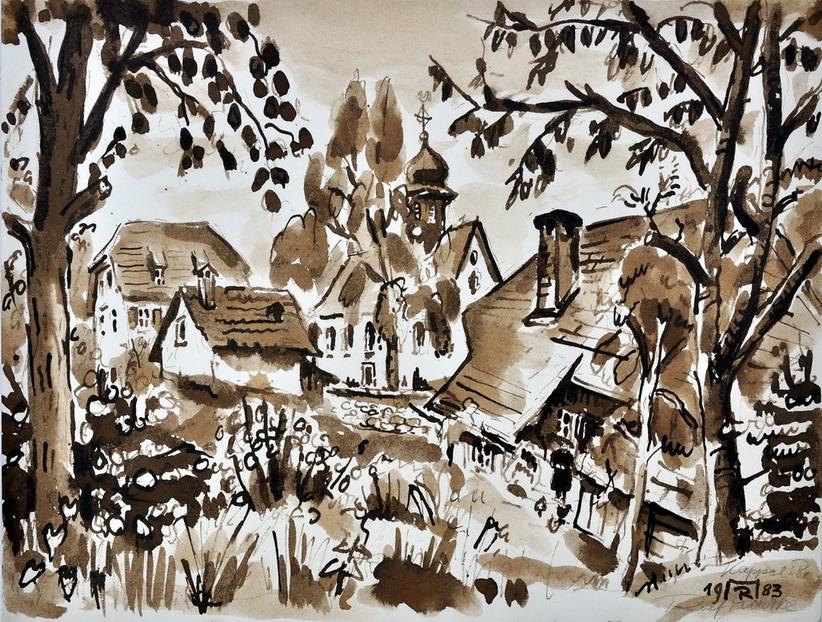 Dr. Rolf Miedtke - Gemälde aus Kappel 15