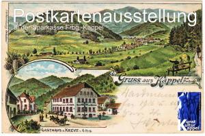 014 Postkartenausstellung Sparkasse Kappel 2013