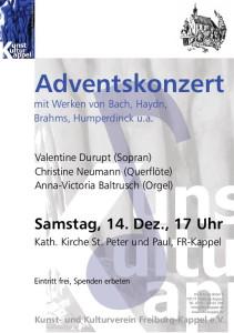 2013.12.14 Adventskonzert