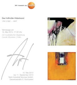 Bea Ausstellung Test 15.5.13