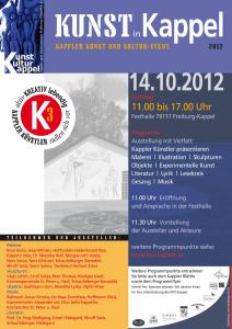 Kunst u. Kultur Event Kappel 2012